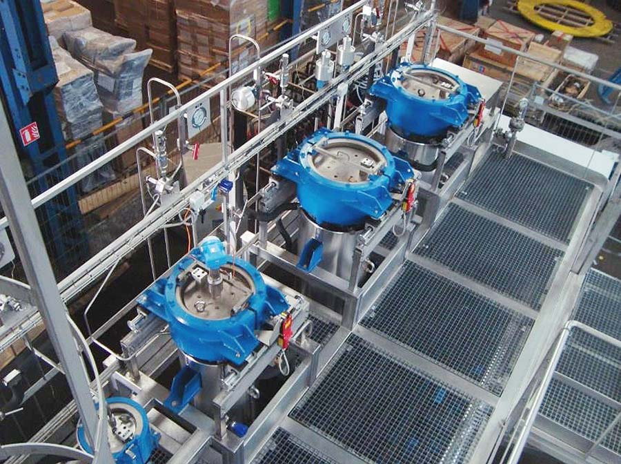 SFE system supercritical high productivity - sfe process