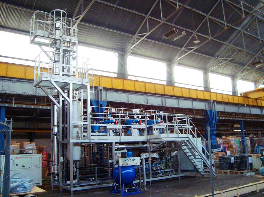 GMP production supercritical SFE system - sfe process