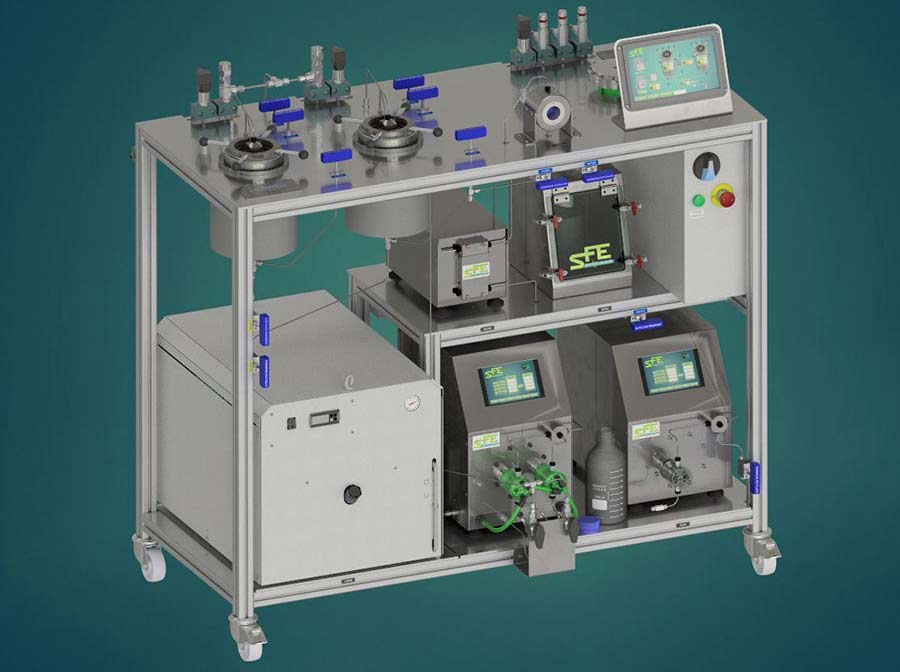 SFELab Supercritical CO2 equipment precision quality - sfe process