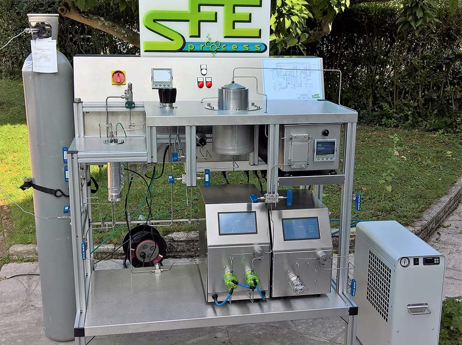 Supercritical fluid technology equipment co2 - sfe process