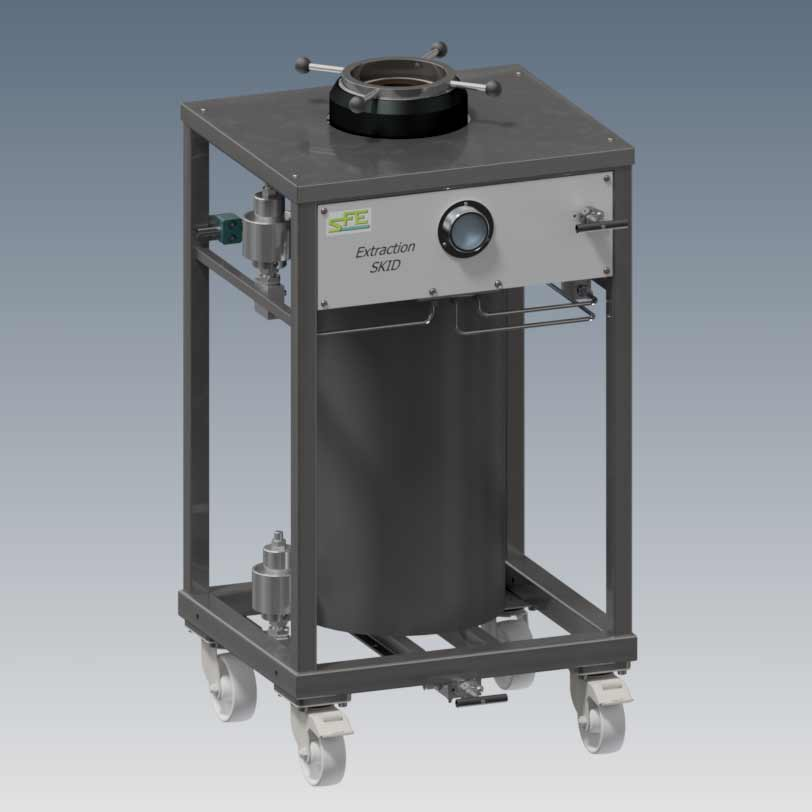 Autoclave 10L supercritical high pressure - sfe process