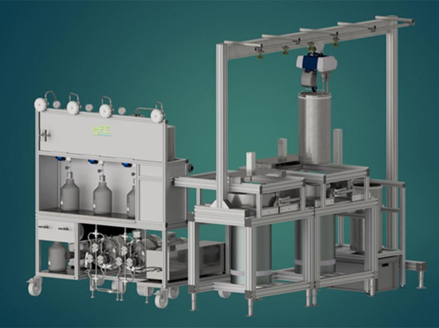 SFE Prod 2X100L supercritical extraction - sfeprocess