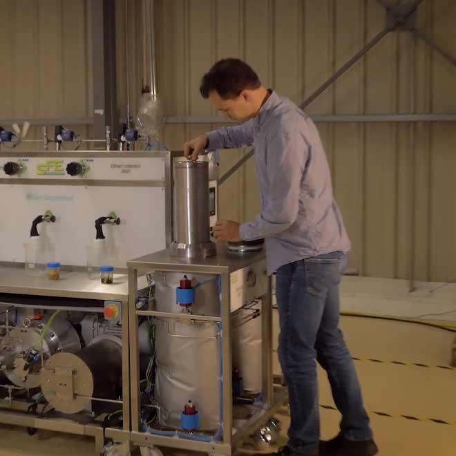 Cartouche pour extraction naturelle - SFE Process