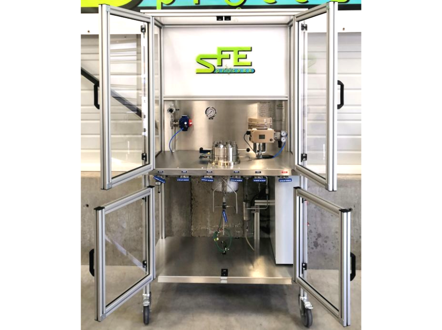 SFE Process sfeprod supercritical CO2