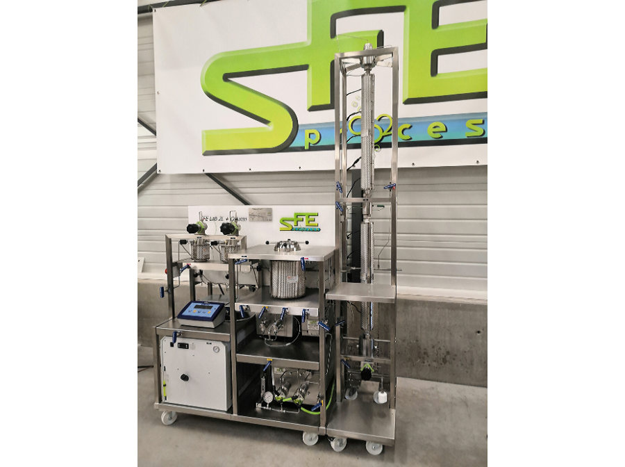 sfe lab supercritical CO2 extraction fractionnation