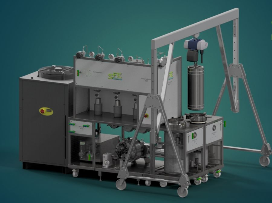 SFEProd 2X20L supercritical CO2 equipment